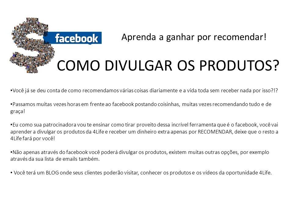 Entenda como ser um DISTRIBUIDOR 4LIFE Cada produto tem sua própria pontuação, veja abaixo: RIO VIDA CX COM 15 ENVELOPES 25 PONTOS NUTRA START 25 PONTOS ENERGY 34 PONTOS TF COM ZINCO 35 PONTOS TF MASTIGÁVEL 35 PONTOS • Tornando-se um DISTRIBUIDOR 4LIFE, apenas por vender/recomendar, você receberá 25% dos produtos que vender.