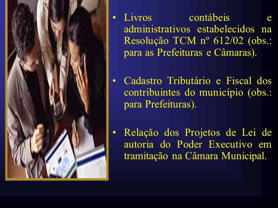 •Relação de entidades civis que receberam recursos públicos municipais a título de subvenção, contribuição ou auxílio e que deles não prestaram contas (obs.: para Prefeituras).