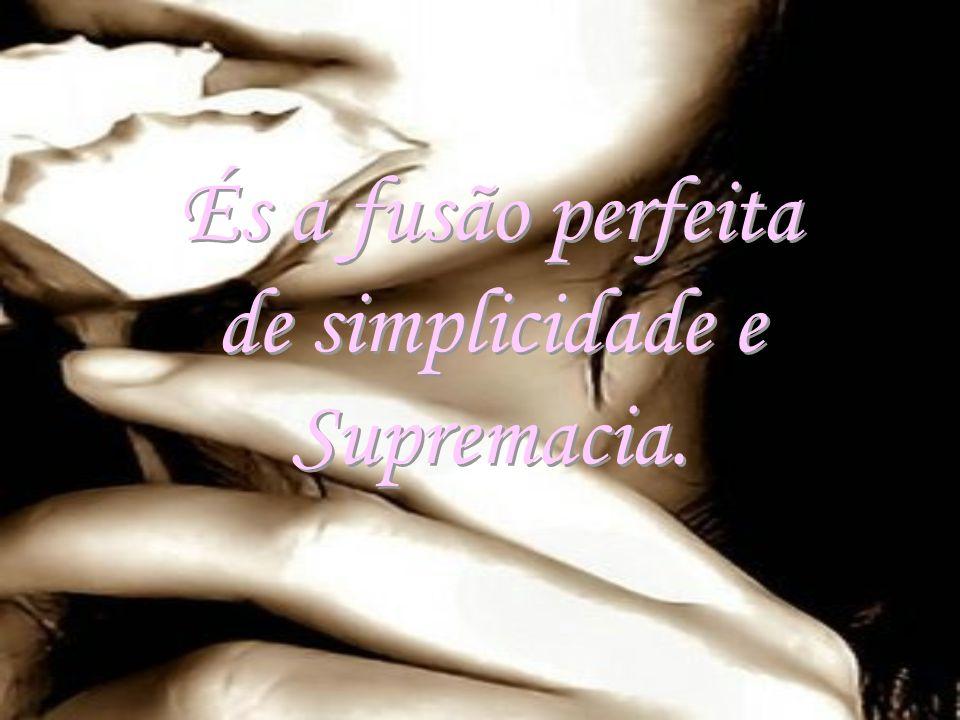 És a fusão perfeita de simplicidade e Supremacia. És a fusão perfeita de simplicidade e Supremacia.