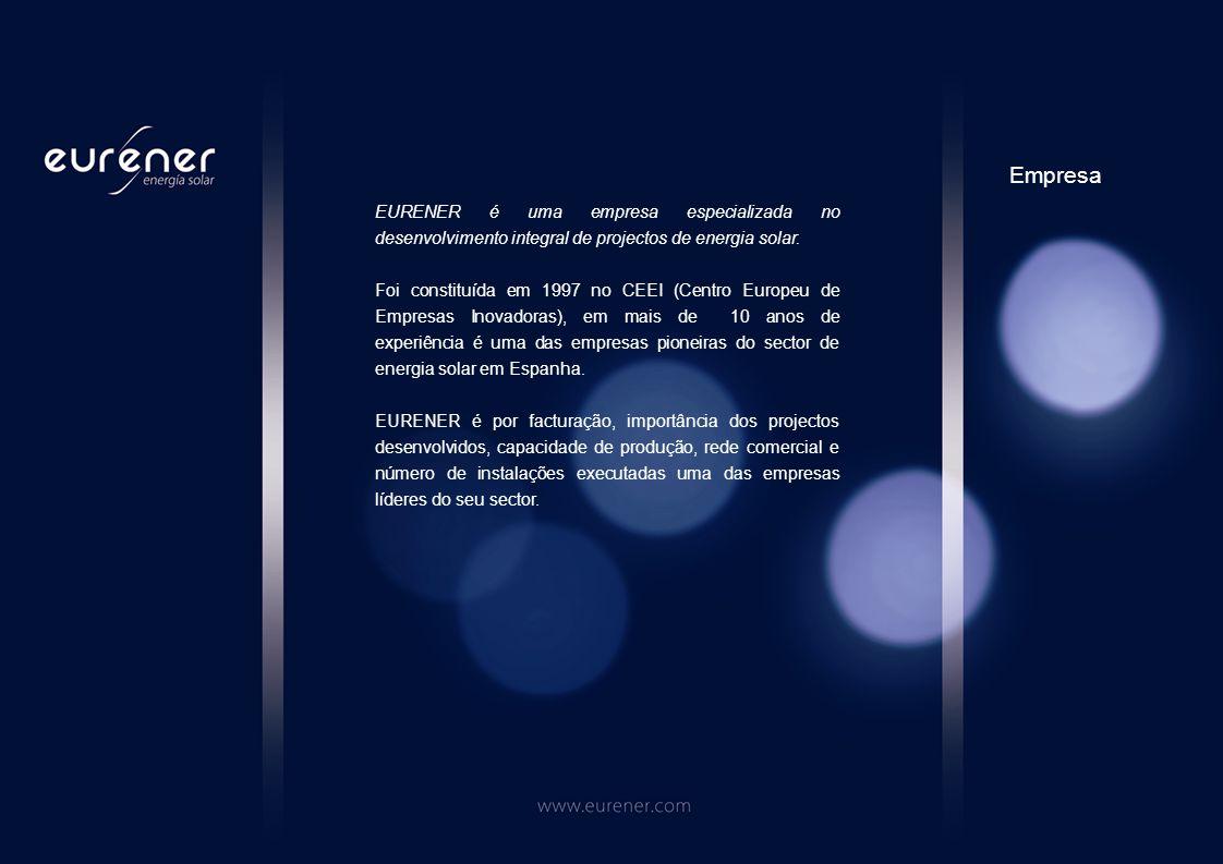 EURENER é uma empresa especializada no desenvolvimento integral de projectos de energia solar.
