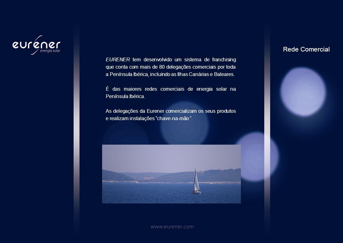 EURENER tem desenvolvido um sistema de franchising que conta com mais de 80 delegações comerciais por toda a Península Ibérica, incluindo as Ilhas Canárias e Baleares.