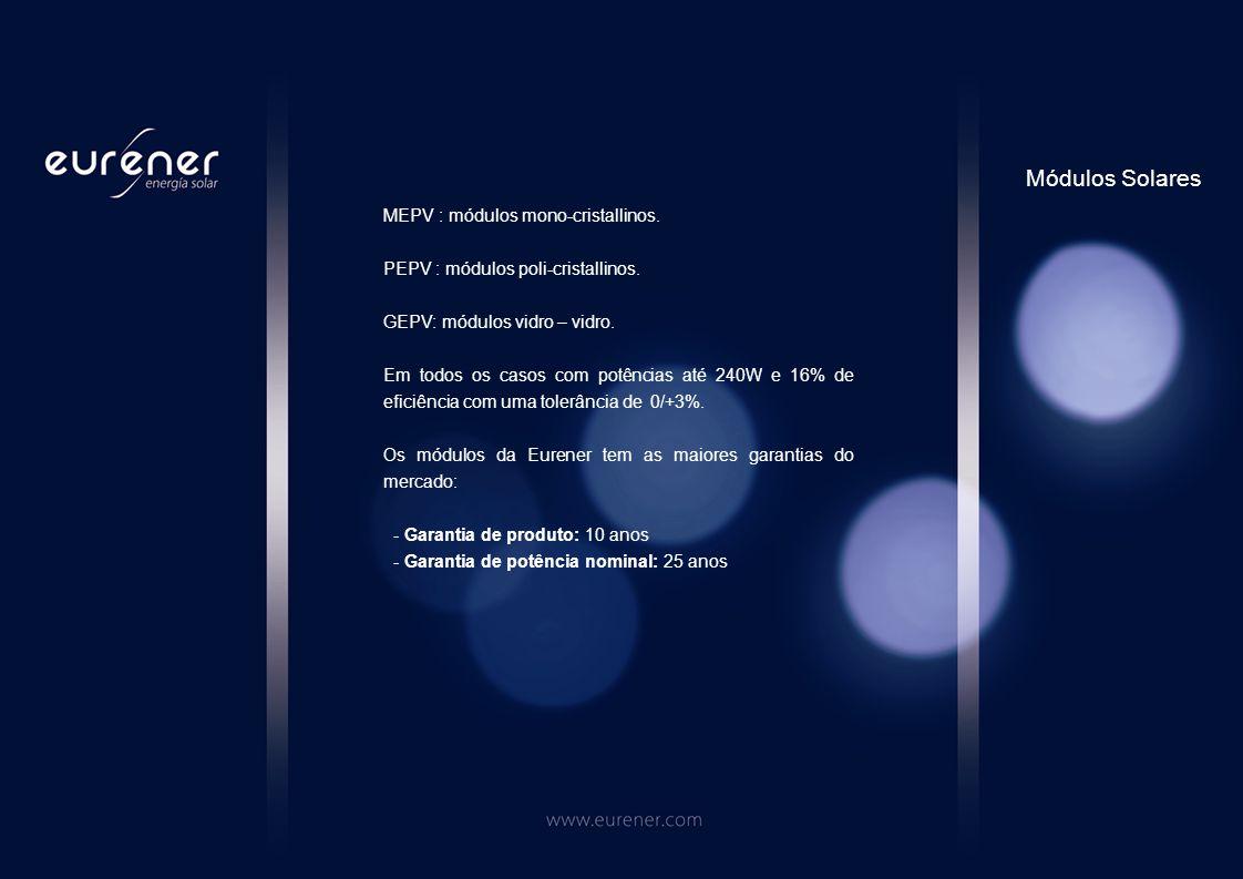 Os inversores NEOS são os inversores de conexão a rede da EURENER.