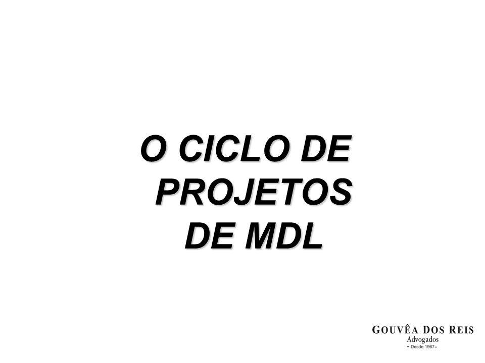 O CICLO DE PROJETOS DE MDL