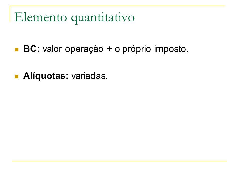 Imunidade  Exportações – crédito assegurado.