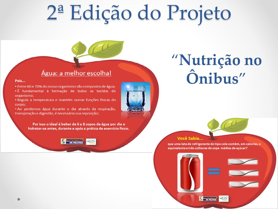 """2ª Edição do Projeto """"Nutrição no Ônibus"""""""