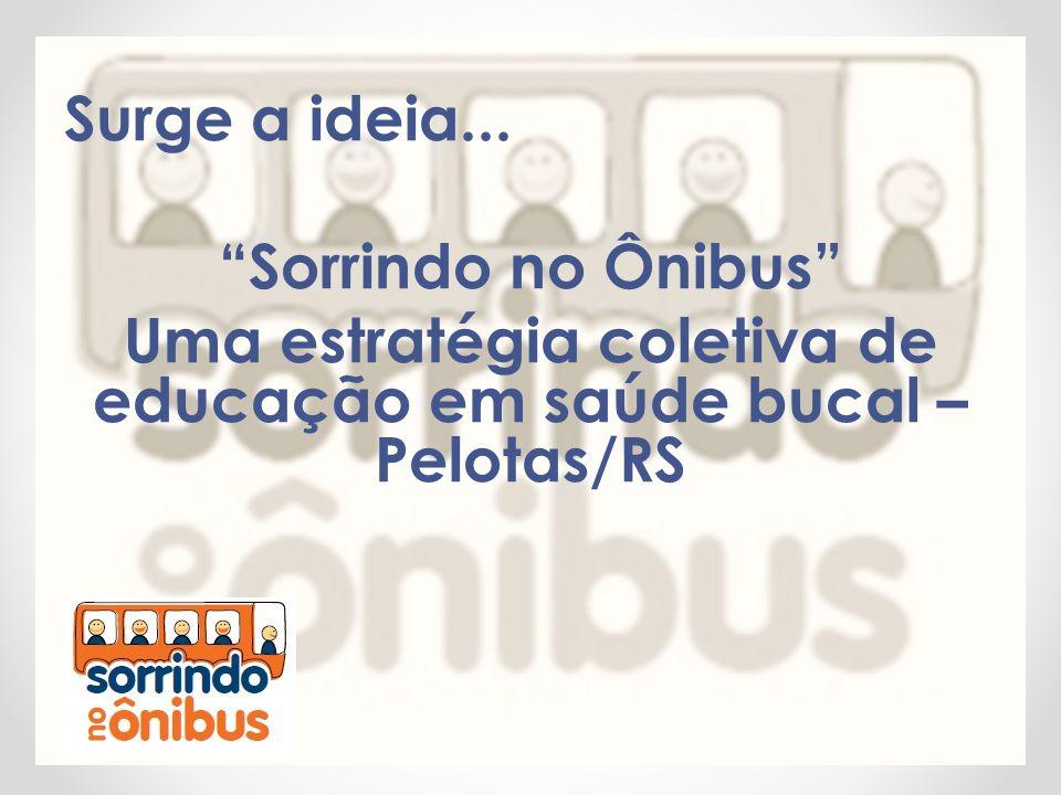 """Surge a ideia... """"Sorrindo no Ônibus"""" Uma estratégia coletiva de educação em saúde bucal – Pelotas/RS"""