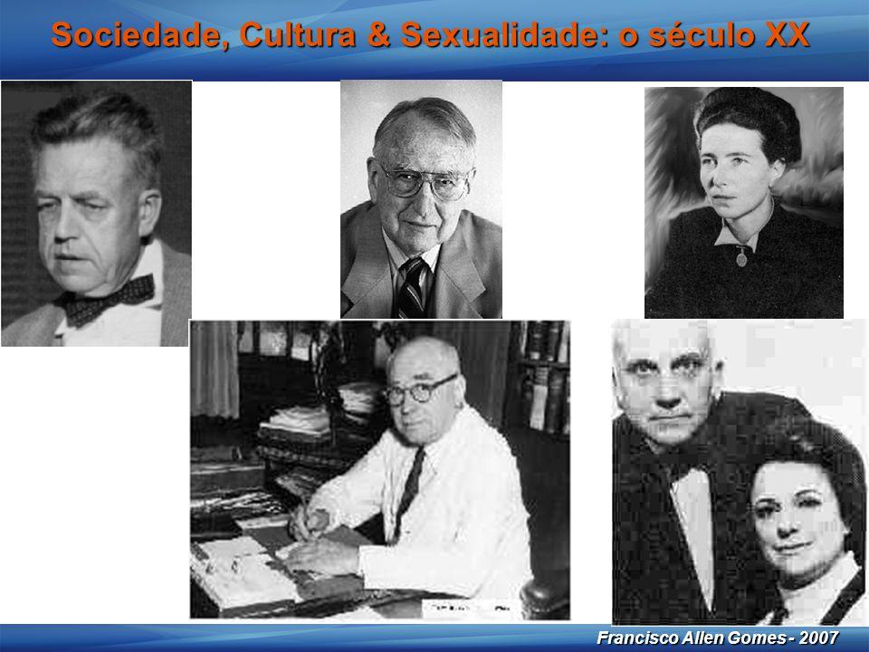 20 Francisco Allen Gomes - 2007 Sociedade, Cultura & Sexualidade: o século XX