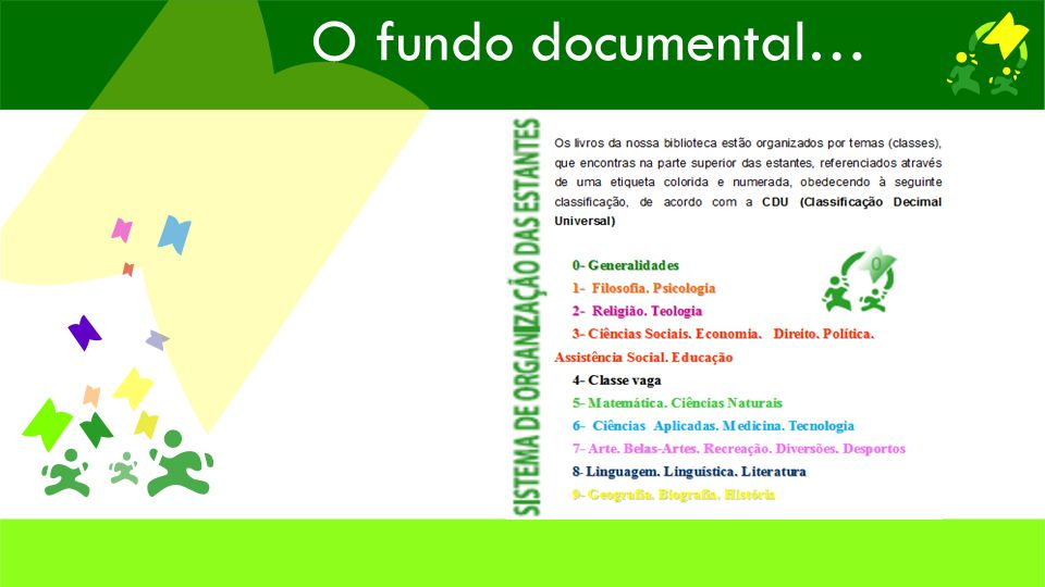 O fundo documental…