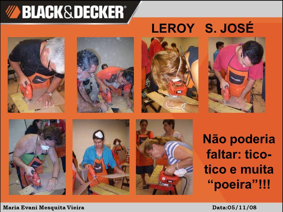 """Maria Evani Mesquita Vieira Data:05/11/08 Não poderia faltar: tico- tico e muita """"poeira""""!!! LEROY S. JOSÉ"""