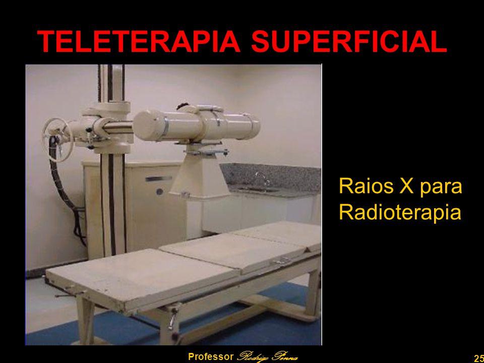 25 Professor Rodrigo Penna TELETERAPIA SUPERFICIAL Raios X para Radioterapia
