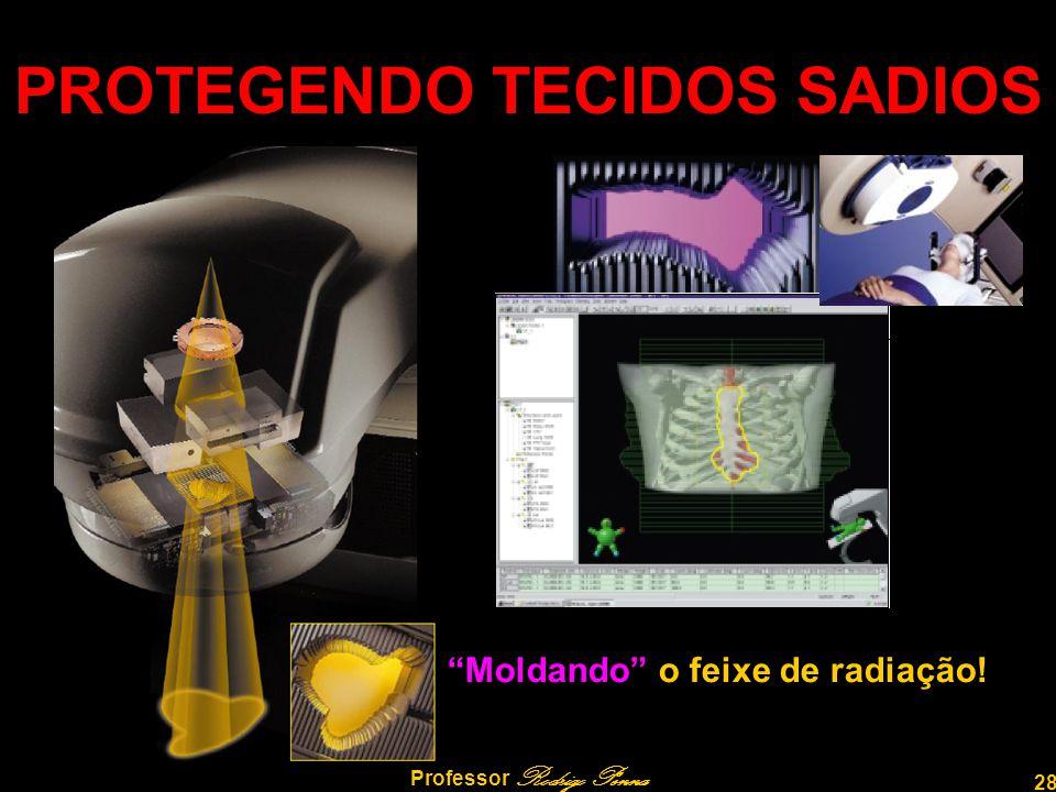 """28 Professor Rodrigo Penna PROTEGENDO TECIDOS SADIOS """"Moldando"""" o feixe de radiação!"""