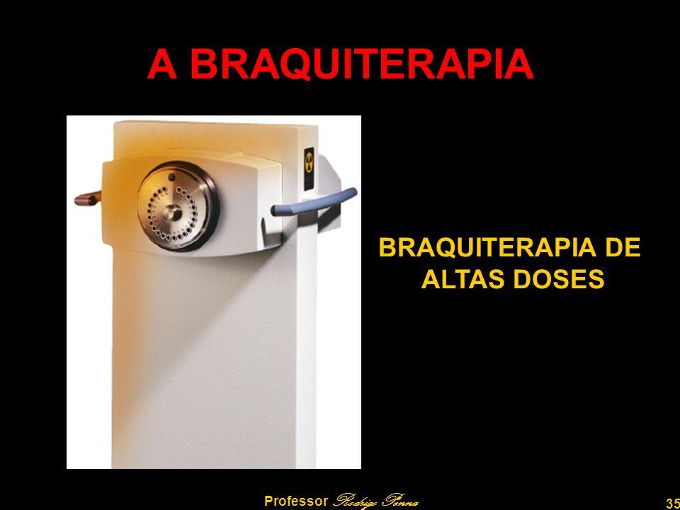 35 Professor Rodrigo Penna A BRAQUITERAPIA BRAQUITERAPIA DE ALTAS DOSES
