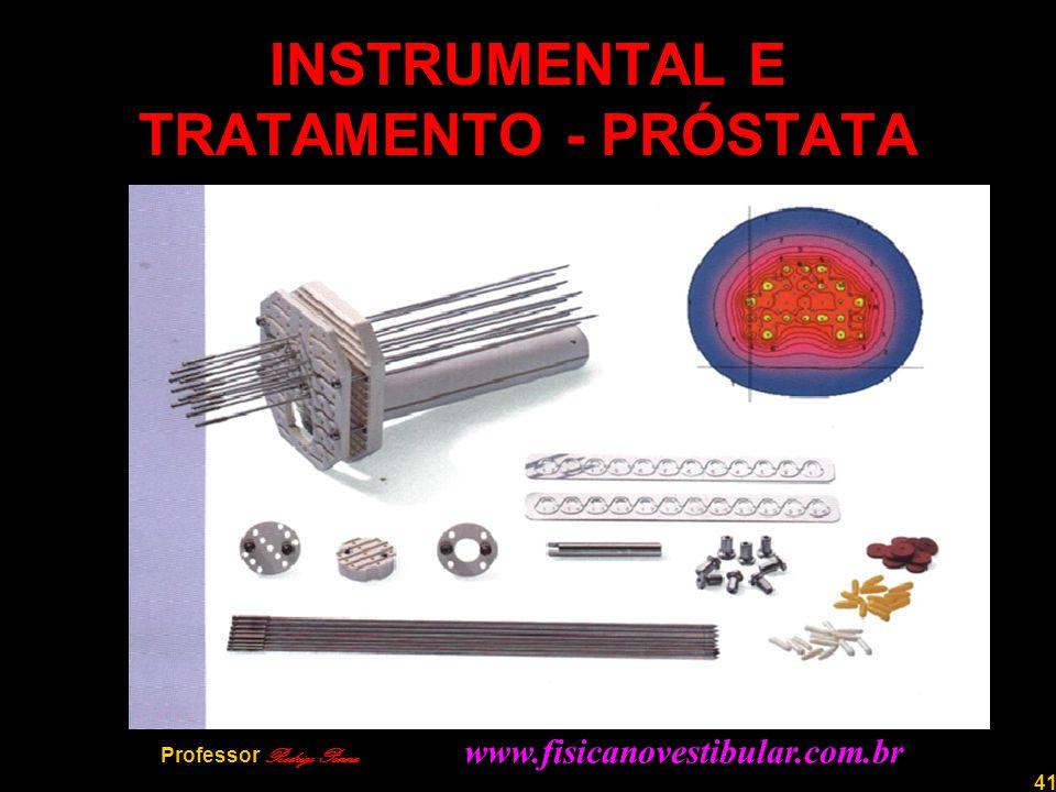 41 INSTRUMENTAL E TRATAMENTO - PRÓSTATA Professor Rodrigo Penna www.fisicanovestibular.com.br