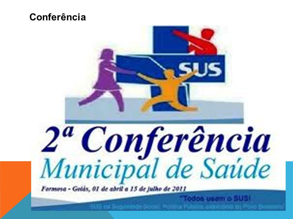 Conferência Consiste sempre em duas partes: o auditório e os expositores. Estes podem discorrer sobre um assunto previamente escolhido e de seu amplo