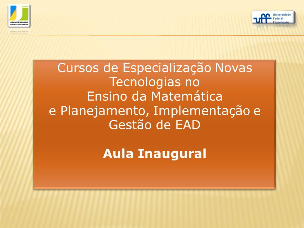 1.Universidade Aberta do Brasil (UAB) 2.LANTE – UFF 3.O aluno na EAD 4.Apresentação dos Cursos NTEM e PIGEAD 5.Disciplinas / Módulos 6.Critérios de Aprovação 7.Disciplinas oferecidas 8.Ambiente Virtual Moodle 9.Assuntos Gerais SUMÁRIO