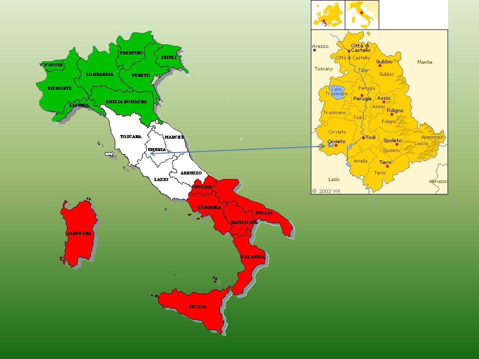 FAMÍLIA CIMINO • A família Cimino tem sua origem na cidade de Orvieto, localizada na região italiana denominada UMBRIA, próxima a Roma. • No slide seg