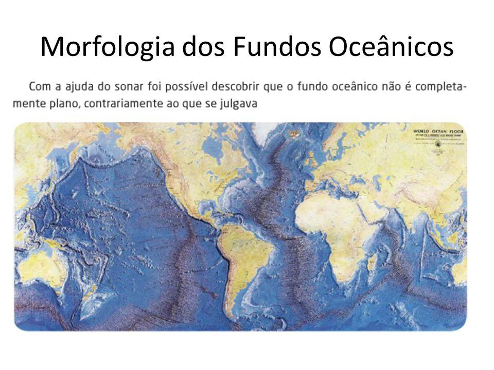 Morfologia dos fundos oceânicos Fossa oceânica