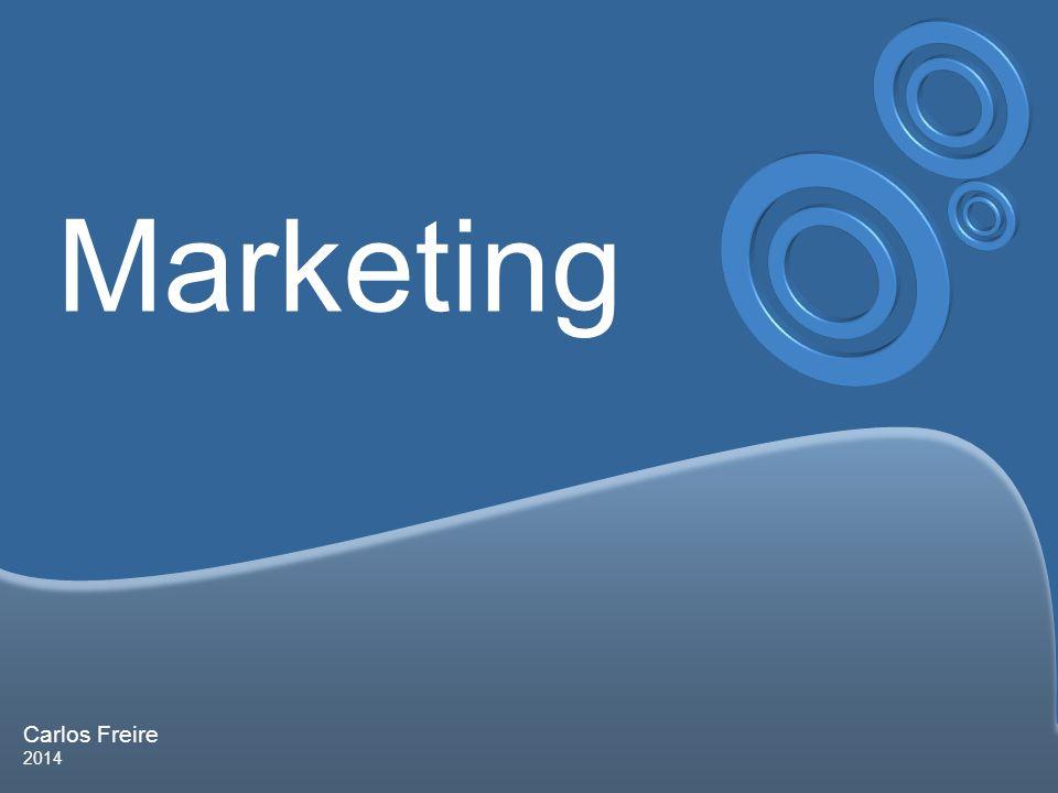 Carlos Freire 2014 Marketing