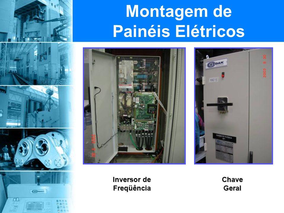 Montagem de Painéis Elétricos Inversor de Freqüência Chave Geral