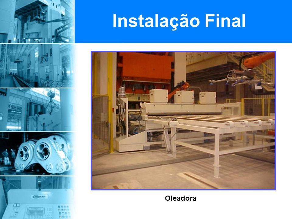 Oleadora Instalação Final