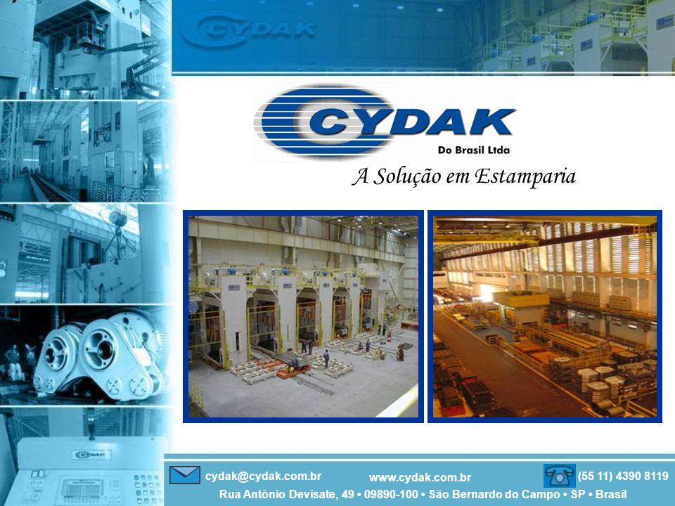 cydak@cydak.com.br (55 11) 4390 8119 Rua Antônio Devisate, 49 • 09890-100 • São Bernardo do Campo • SP • Brasil www.cydak.com.br A Solução em Estamparia