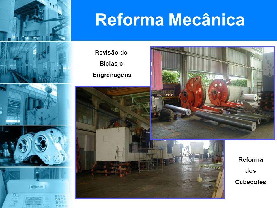 Revisão de Bielas e Engrenagens Reforma Mecânica Reforma dos Cabeçotes