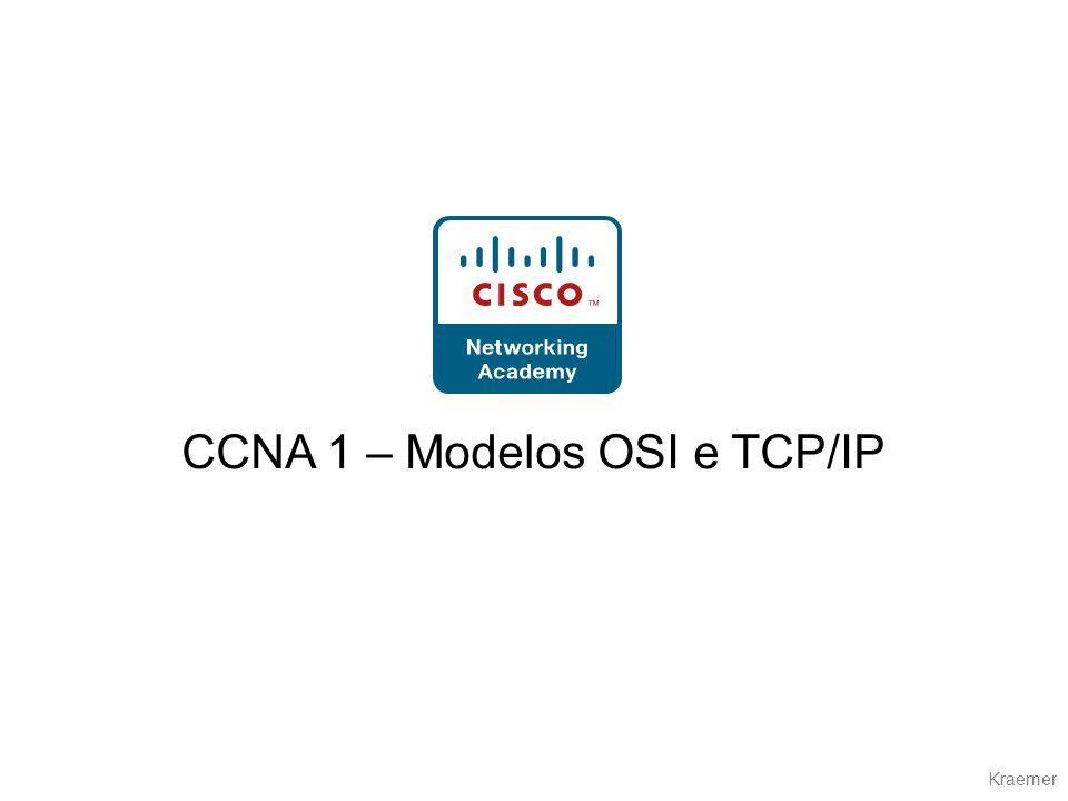 Kraemer CCNA 1 – Modelos OSI e TCP/IP