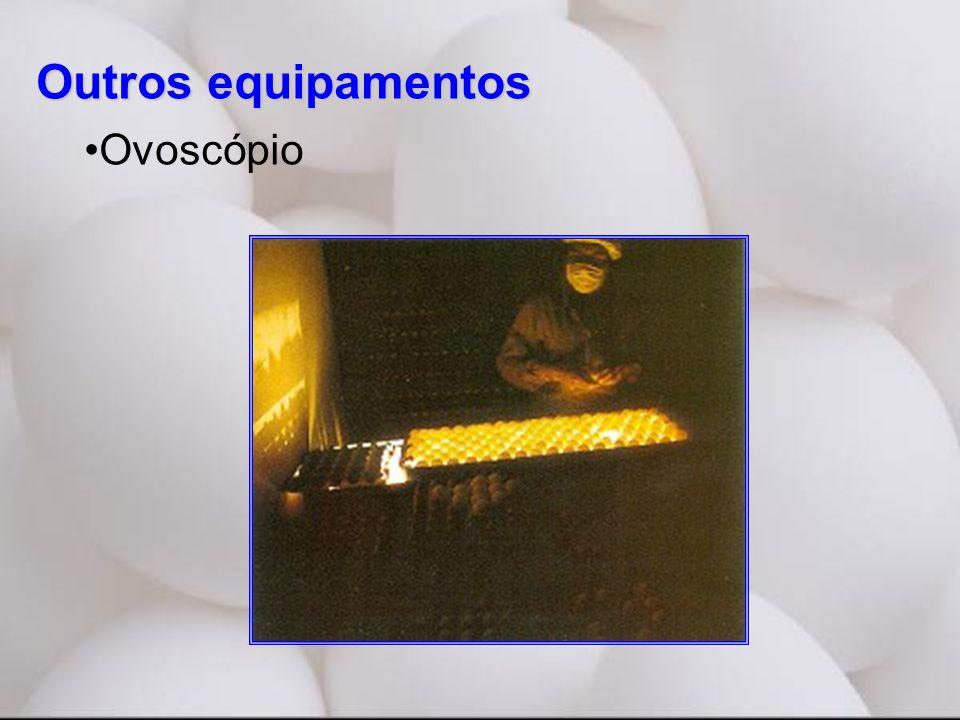 Outros equipamentos •Ovoscópio