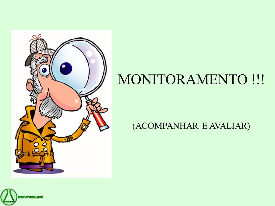 MONITORAMENTO !!! (ACOMPANHAR E AVALIAR)