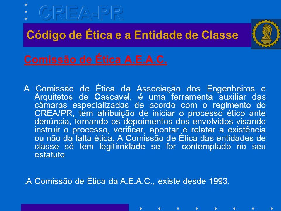 Comissão de Ética A.E.A.C.