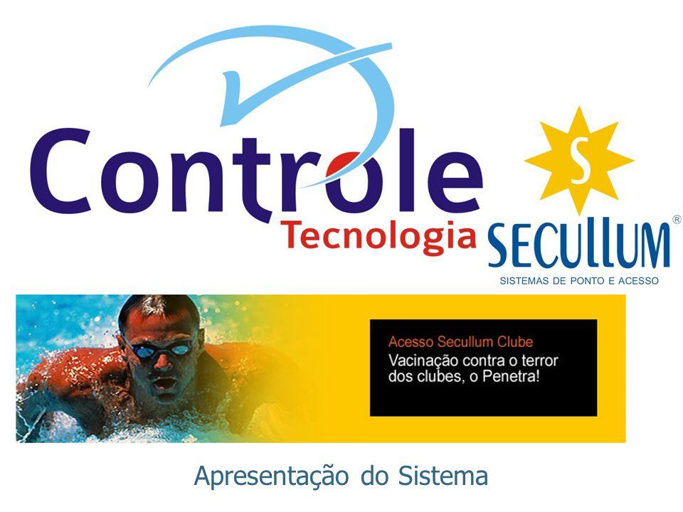 Objetivo ACESSO SECULLUM CLUBE Controlar o acesso a clubes, comunicando diretamente com catracas informatizadas ou biométricas e oferecendo diversos recursos de gerenciamento.