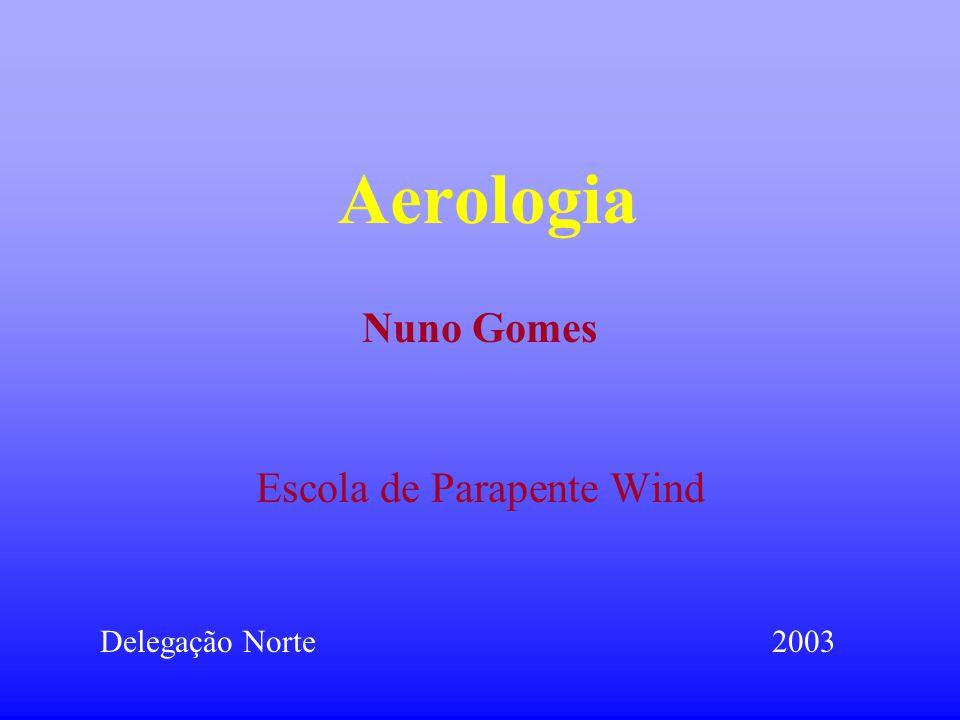 Aerologia Escola de Parapente Wind Delegação Norte2003 Nuno Gomes