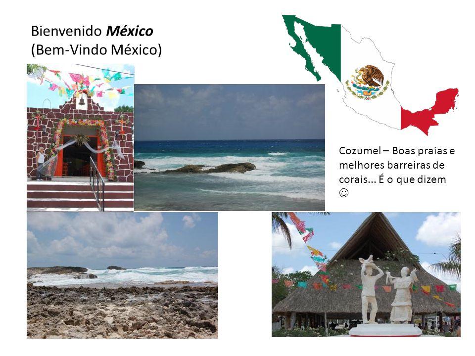 Bienvenido México (Bem-Vindo México) Cozumel – Boas praias e melhores barreiras de corais...