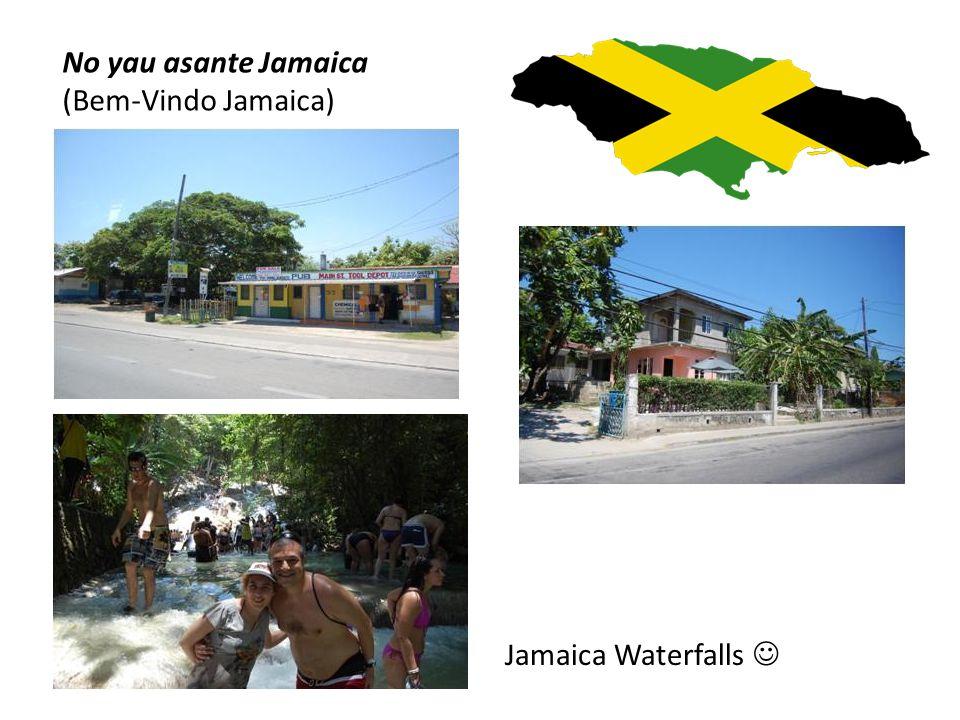 No yau asante Jamaica ( Bem-Vindo Jamaica) Ochos Rios Cruise  Going to school...