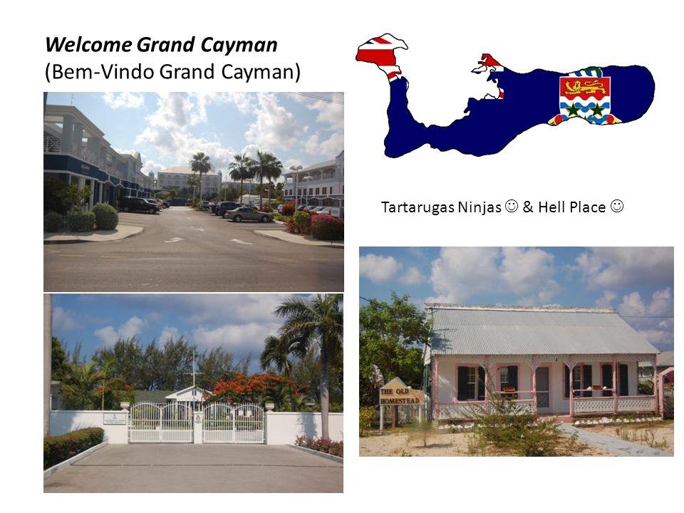 Welcome Grand Cayman ( Bem-Vindo Grand Cayman) I've been in Hell Place  Tartarugas Ninjas 
