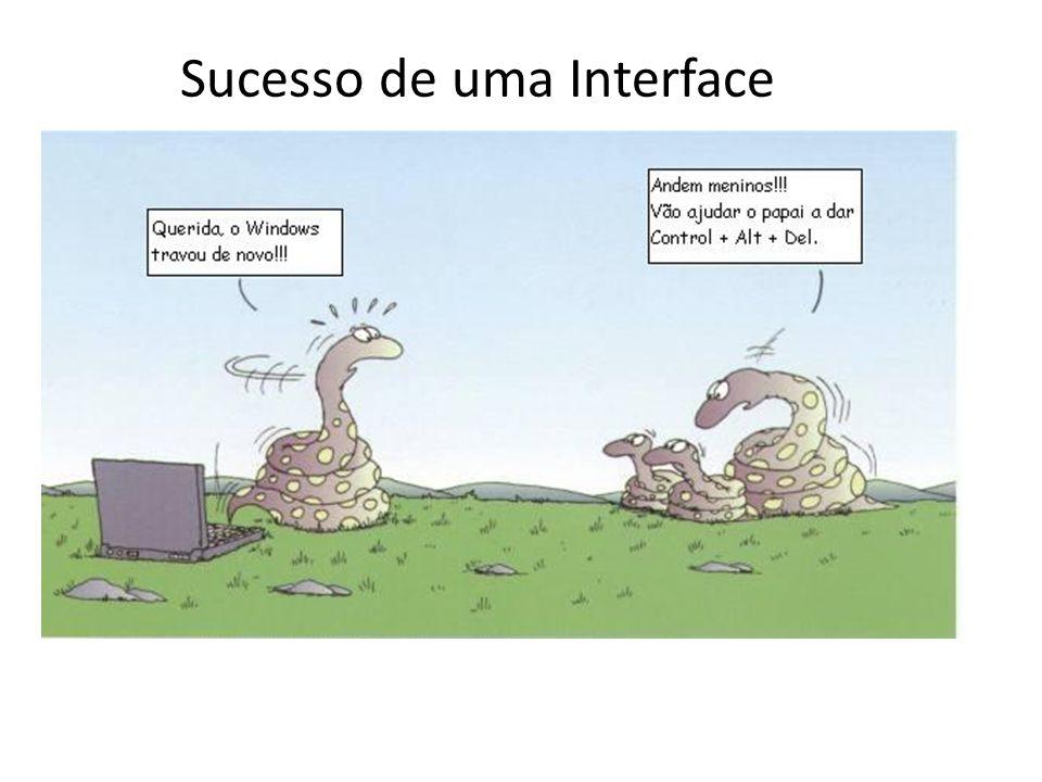 Sucesso de uma Interface