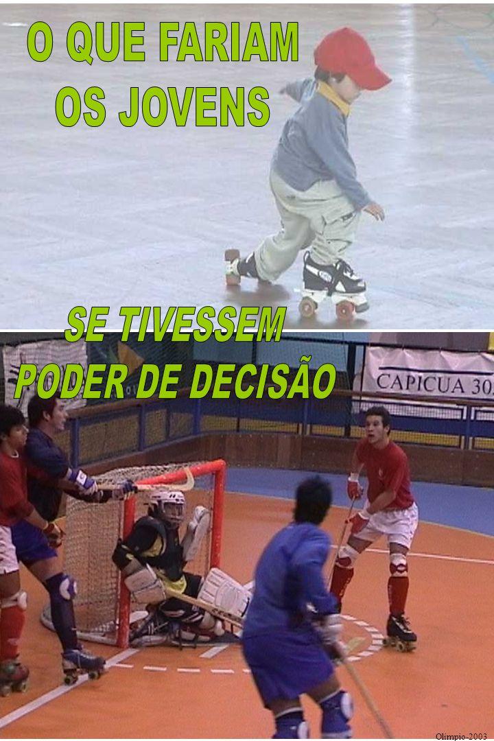 NÚMERO DE PONTOS - RESTANTES RAZÕES INDIVIDUAIS (APENAS ANÁLISE DOS QUE JOGAM MAIS TEMPO) Motivação dos jovens hoquistas portugueses Olímpio 2003/4 K