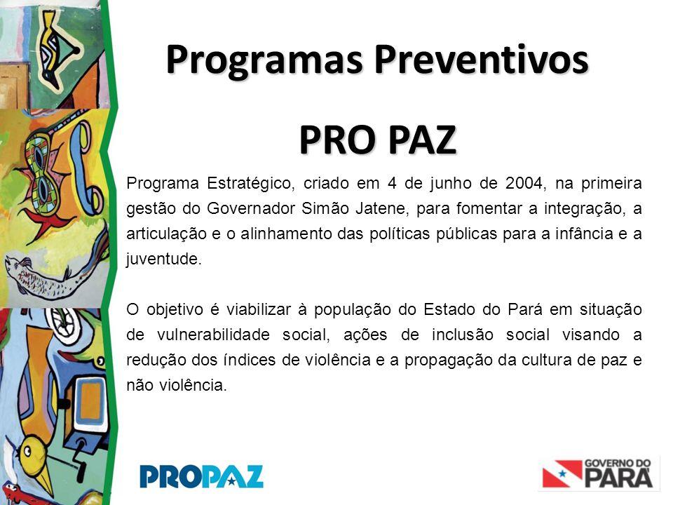 Programa Estratégico, criado em 4 de junho de 2004, na primeira gestão do Governador Simão Jatene, para fomentar a integração, a articulação e o alinh