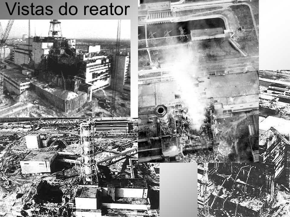 Vistas do reator