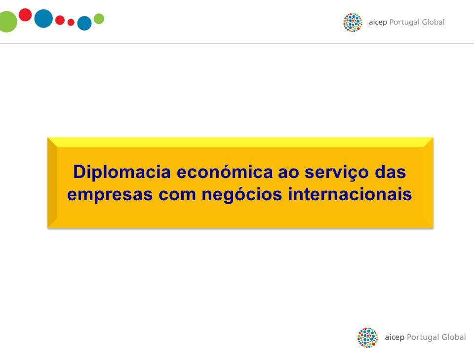 Diplomacia económica ao serviço das empresas com negócios internacionais