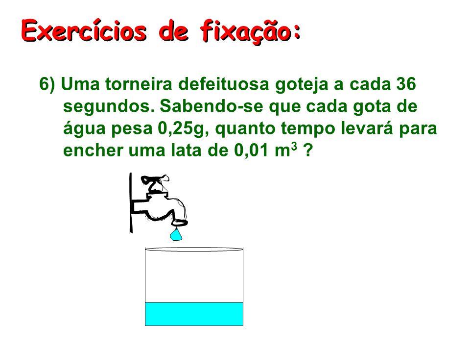 Exercícios de fixação: 5) (UFMG) As figuras abaixo representam densímetros como os usados em postos de gasolina. O primeiro contém etanol puro (d = 0,
