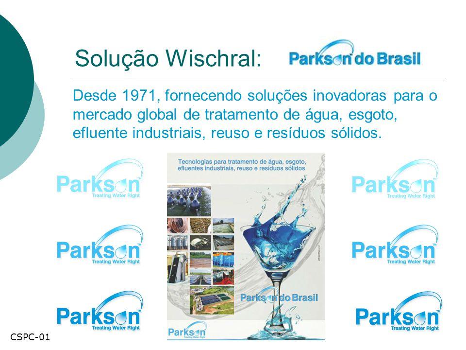 Solução Wischral: Desde 1971, fornecendo soluções inovadoras para o mercado global de tratamento de água, esgoto, efluente industriais, reuso e resídu