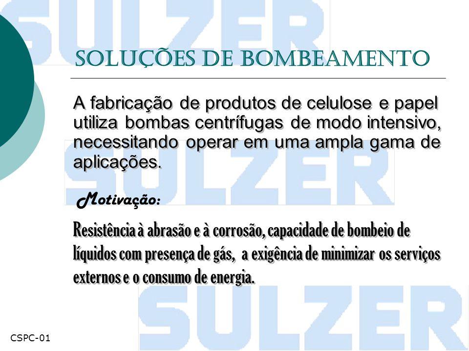 Bomba - AHLSTAR Soluções de bombeamento up Elevando o desempenho de bombas para o mais alto nível CSPC-01