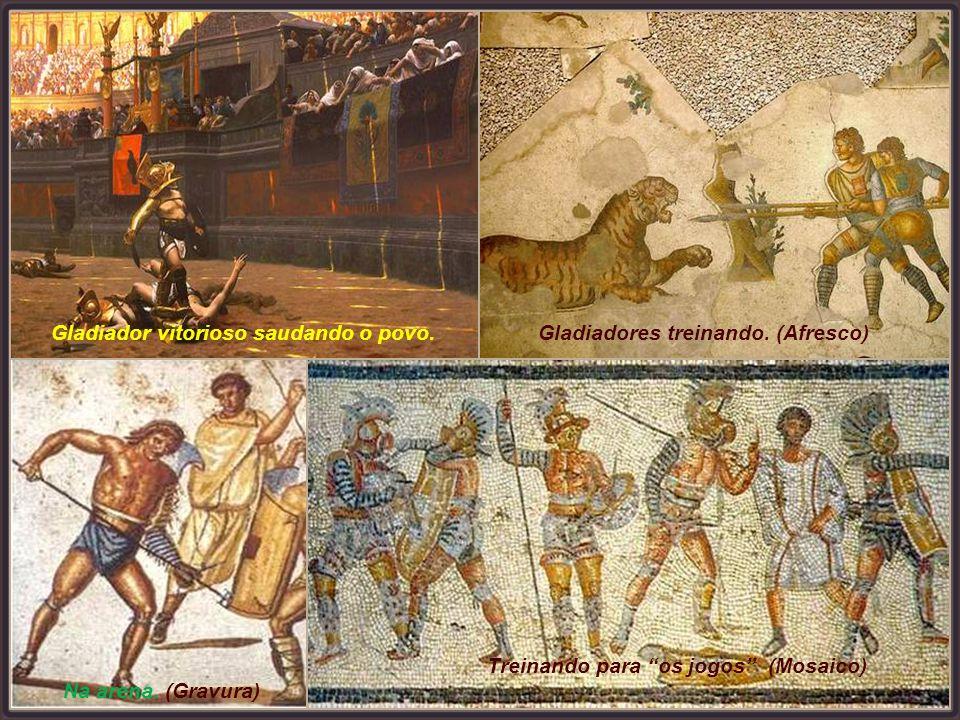 Não raro, o vencedor era levado aos aposentos de alguma nobre dama romana a fim de prestar-lhe serviços. O escolhido devia sentir-se honrado.