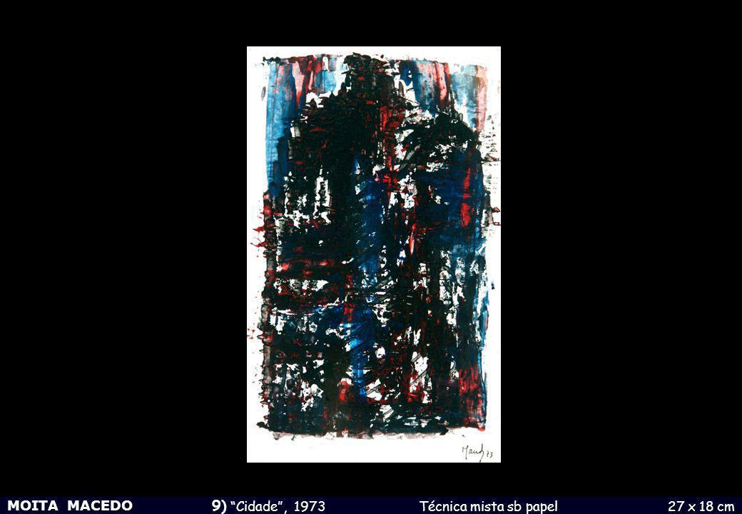MOITA MACEDO 23) S/ Título, 1982 Guache sb papel 18 x 24 cm