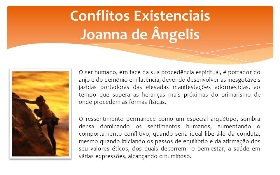 O ser humano, em face da sua procedência espiritual, é portador do anjo e do demônio em latência, devendo desenvolver as inesgotáveis jazidas portador