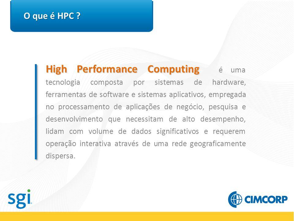HPC na prática Entretenimento HPC Em Entretenimento, HPC é utilizada para produção de cenas mais realísticas, ilustração de produtos e produção de vídeos.