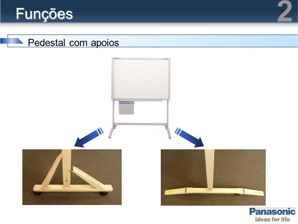 Funções Pedestal com apoios 2