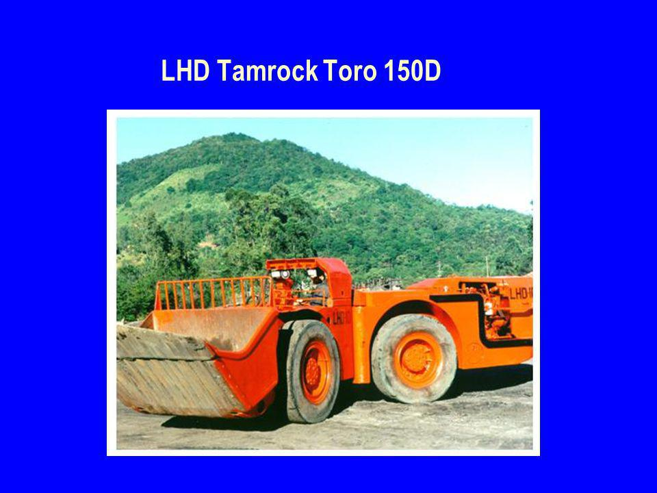 LHD Tamrock Toro 150D
