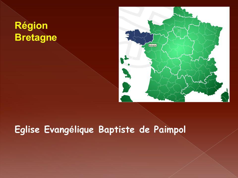 Région Bretagne Eglise Evang é lique Baptiste de Paimpol
